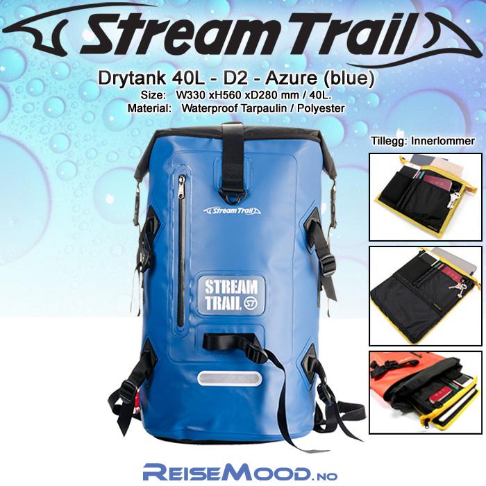 ST-Drytank 40L-D2-Azure