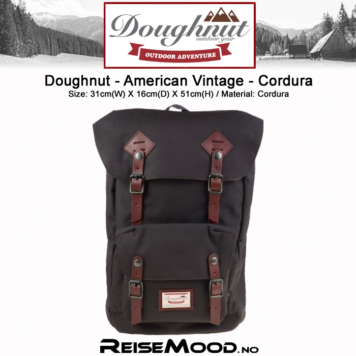 DN-American Vintage-Cordura-Charcoal
