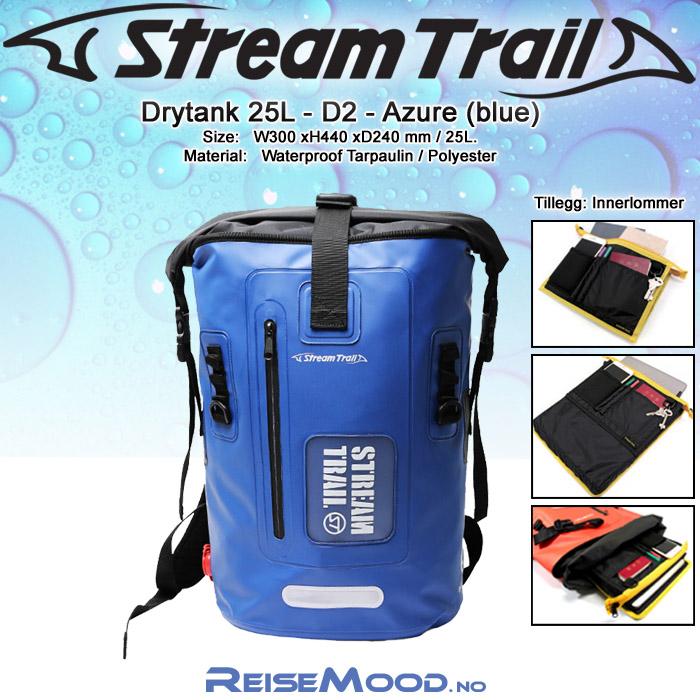 Drytank 25L-D2-Azure
